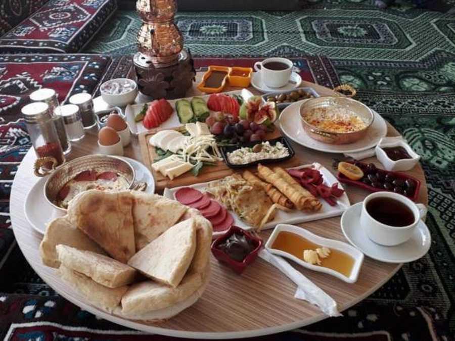 Bodrum Yörük Çadırı Kahvaltı Yeri