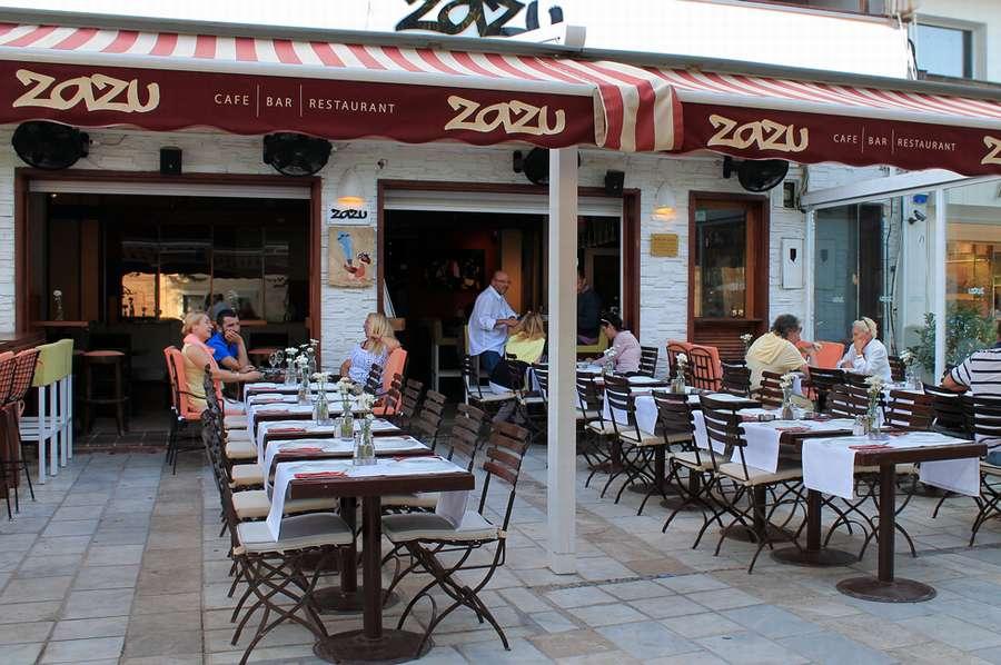 Bodrum Zazu Cafe Bar Restoran